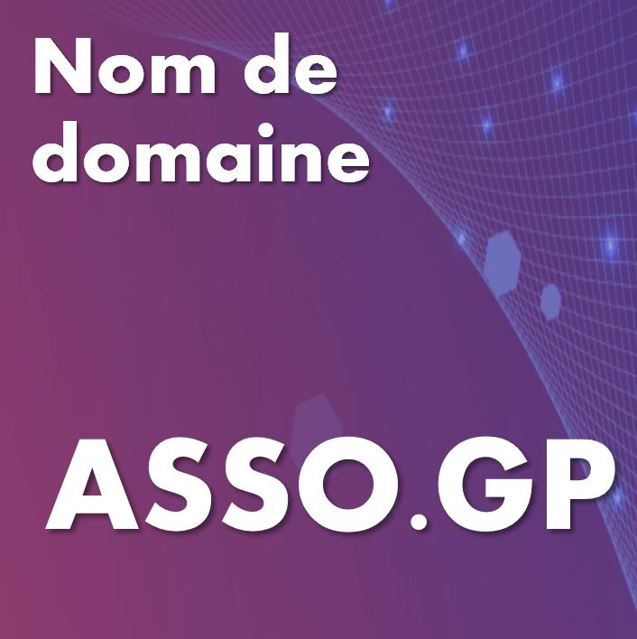 Nom de domaine asso.gp