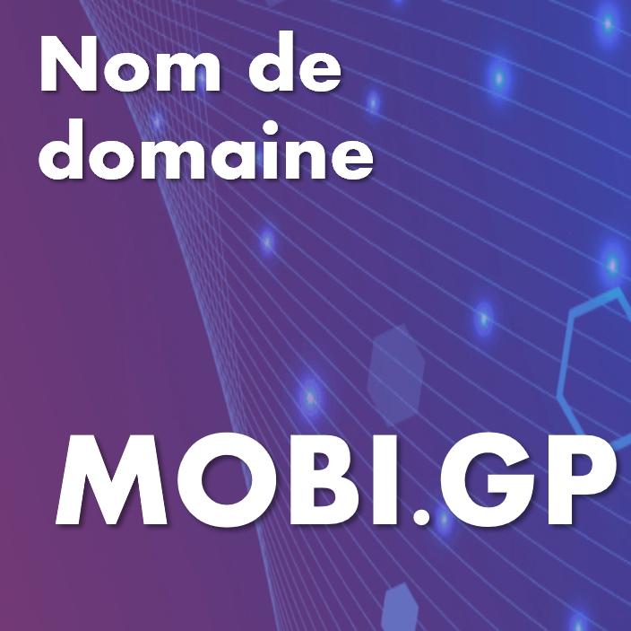 Nom de domaine mobi.gp