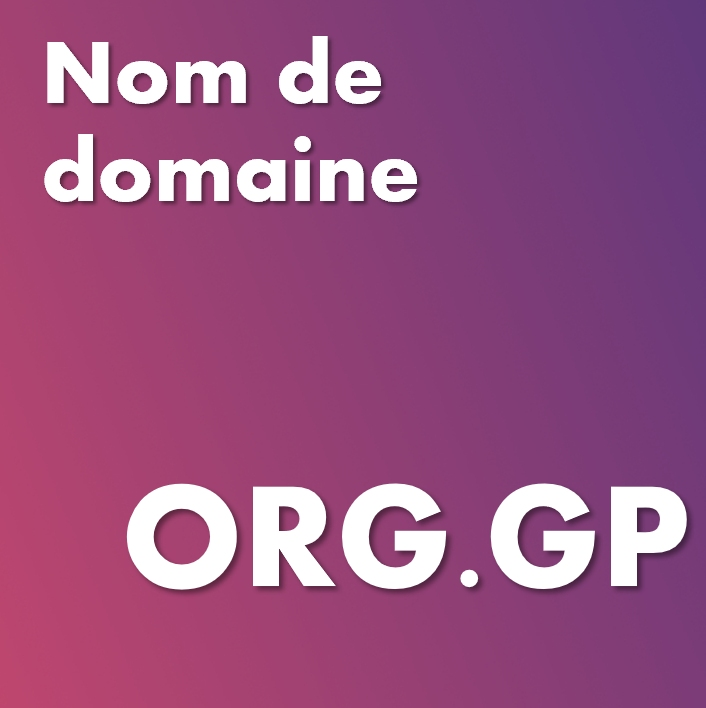 Nom de domaine org.gp